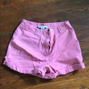 Vintage High waisted coral shorts!!